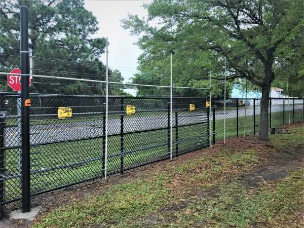 Controlled Gate Security Fence