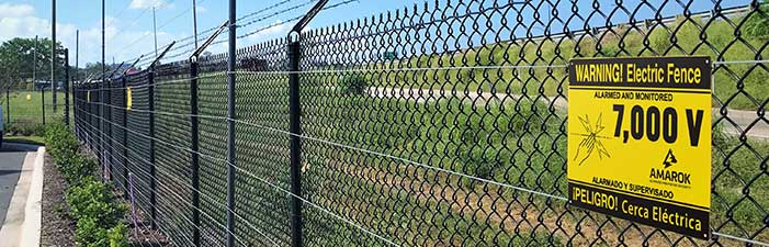 Electric Perimeter Security Fence by AMAROK