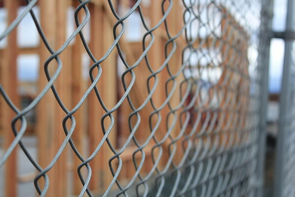 Chain-Link Fences Have an Unpleasant Appearance