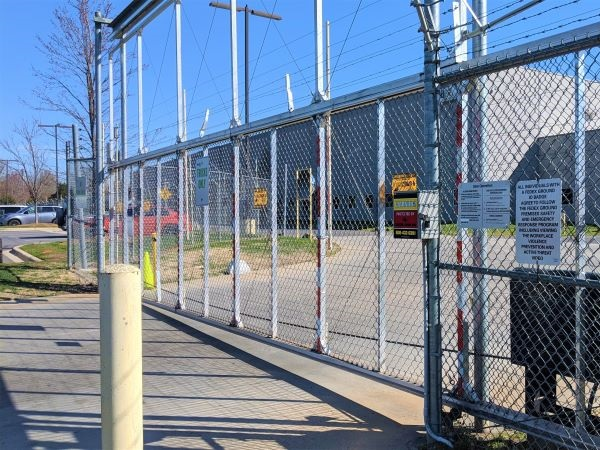 Large Gate Electric Fence