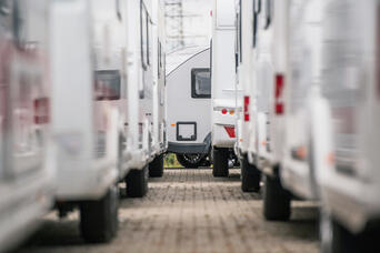 RV Camper Dealership Shutterstock 1489804583