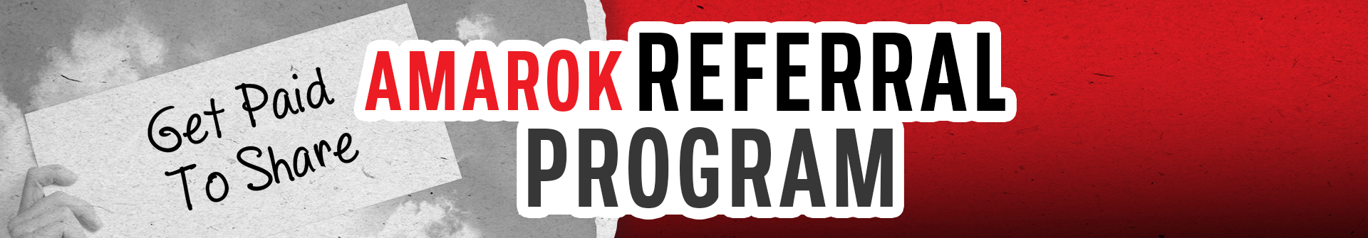 AMAROK Referral Program
